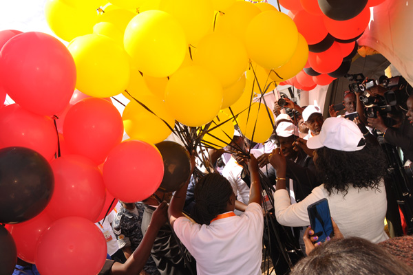 POMP AS MINISTER KASAIJA FLAGS OFF ANNUAL K'LA SERVICE DELIVERY EVENT