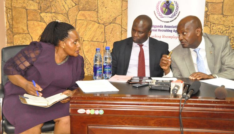 DON'T POLITICIZE OUR BIZ, LABOR EXPORTERS TELL OFF MUKONO MP NAMBOOZE